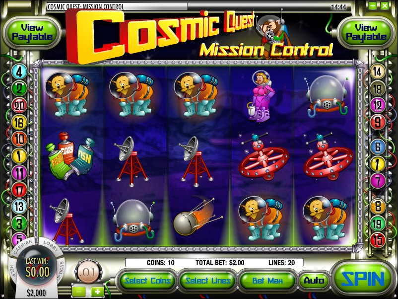 Cosmic Quest 1: Mission Control Slot Machine Online ᐈ Rival™ Casino Slots