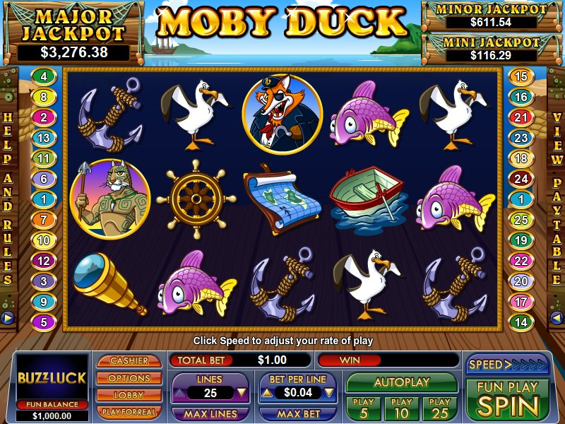 Duck of Luck™ Slot Machine Game to Play Free in Casino Technologys Online Casinos