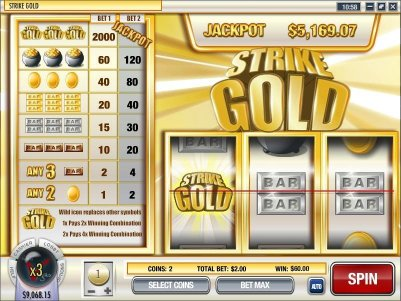 Rival video slot machine image