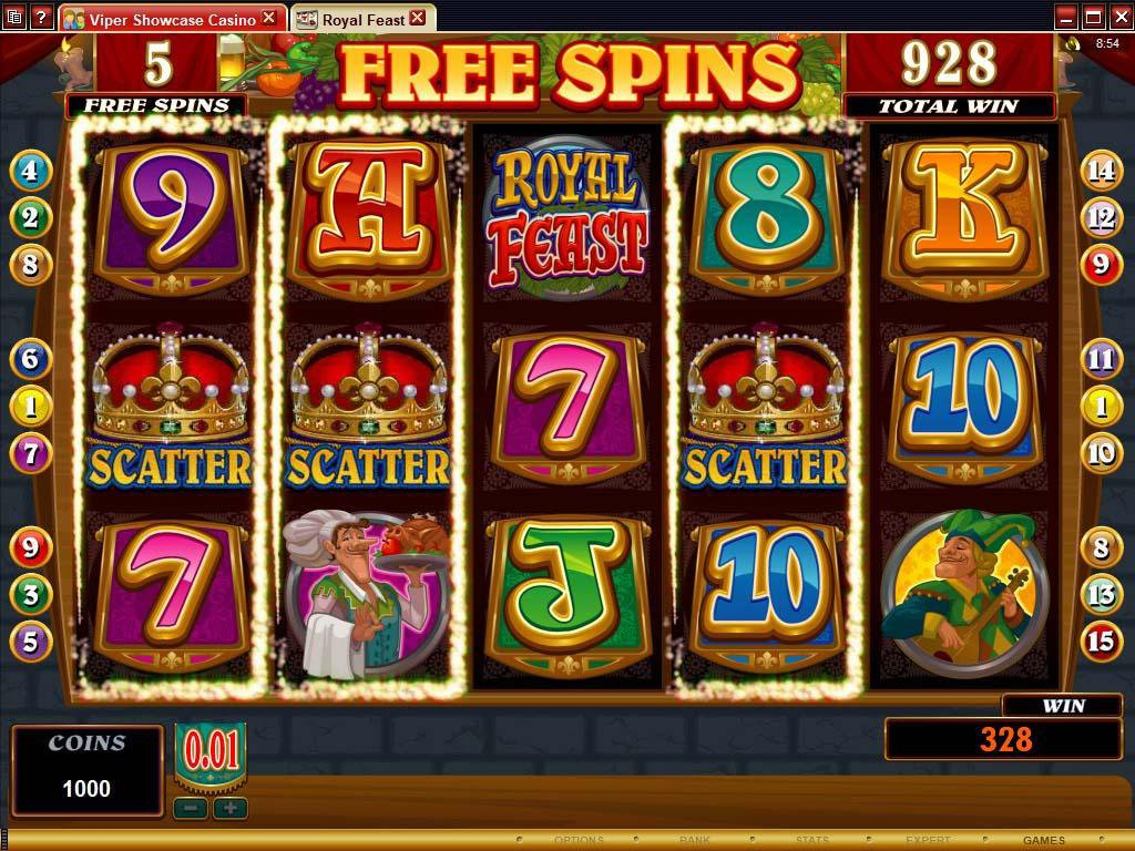 slot gaming rules